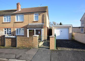 Thumbnail Semi-detached house for sale in Balmoral Road, Keynsham, Bristol