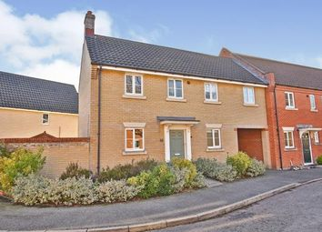 Thumbnail 3 bed end terrace house for sale in Old Catton, Norwich, Norfolk