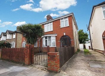 Thumbnail 3 bed semi-detached house for sale in Beverley Road, Ipswich