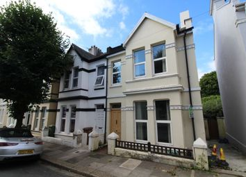 Thumbnail 3 bed semi-detached house to rent in Rectory Road, The Rectory, Stoke, Plymouth