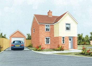 Thumbnail 3 bed detached house for sale in Mildenhall Road, West Row, Bury St. Edmunds