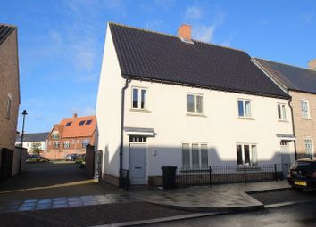 Thumbnail 3 bed terraced house to rent in Bristle Street, Upton, Northampton