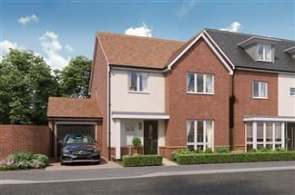 Thumbnail 4 bed link-detached house for sale in Beggarwood Lane, Basingstoke