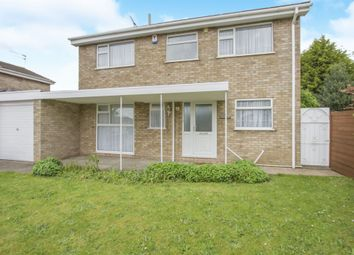 Thumbnail 4 bed detached house for sale in Teignmouth Close, Evington, Leicester