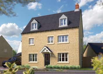 "Thumbnail 5 bed detached house for sale in ""The Warwick"" at Towcester Road, Silverstone, Towcester"