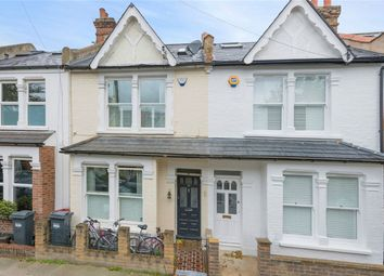 Thumbnail 3 bed terraced house for sale in Geraldine Road, Strand On The Green, Chiswick