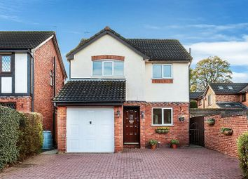 Thumbnail 3 bed detached house for sale in The Moorings, Congleton