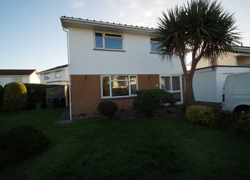 Thumbnail 4 bed detached house to rent in Orchard Road, Braunton
