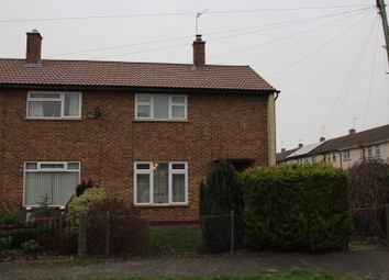 Thumbnail 2 bed end terrace house for sale in Colston Close, Park South, Swindon