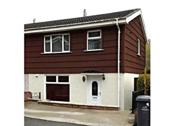 Thumbnail 3 bed semi-detached house for sale in Glan Ebbw, Abertillery