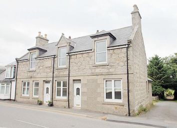 Thumbnail 3 bed end terrace house for sale in Main Street, New Byth, Turriff