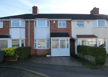 Thumbnail 3 bed terraced house for sale in Arundel Road, Nr Hollywood, Birmingham