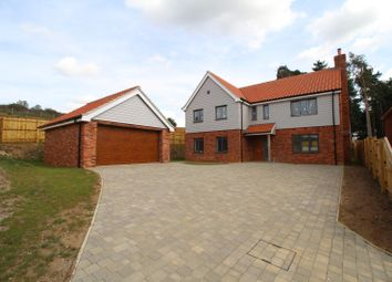 Thumbnail 5 bed detached house for sale in Wormegay Road, Plot 4, Blackborough End, King's Lynn