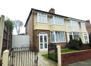 Thumbnail 3 bed semi-detached house for sale in Elmar Road, Liverpool, Merseyside, Uk