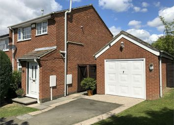 Thumbnail 3 bed semi-detached house for sale in Crich Way, Newhall, Swadlincote, Derbyshire