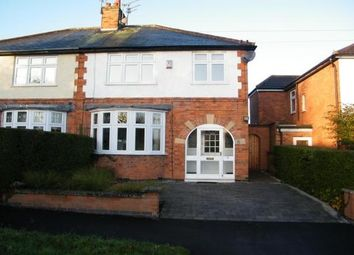 Thumbnail 3 bed semi-detached house to rent in Howard Road, Leicester