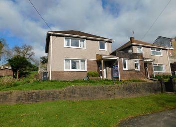 Thumbnail 3 bedroom link-detached house for sale in Cilmaengwyn Road, Pontardawe, Swansea.