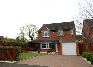 Thumbnail 4 bed detached house for sale in Beamont Close, Lutterworth