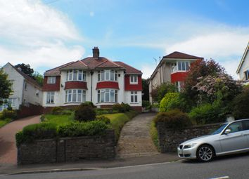 Thumbnail 4 bed semi-detached house to rent in Parc Wern Road, Sketty, Swansea