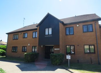 Thumbnail 2 bed flat for sale in Stagshaw Drive, Peterborough
