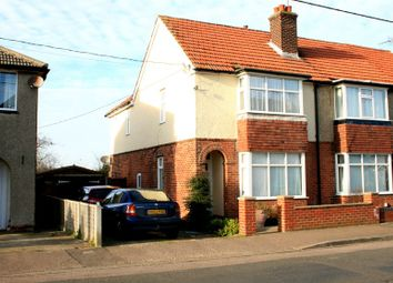 Thumbnail 3 bed semi-detached house for sale in Woodberry Way, Walton On The Naze