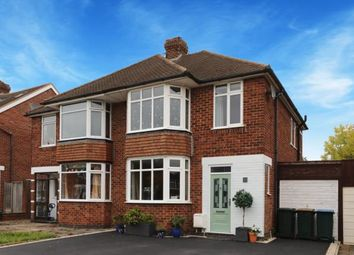Thumbnail 3 bed semi-detached house for sale in Frankton Avenue, Styvechale, Coventry, West Midlands