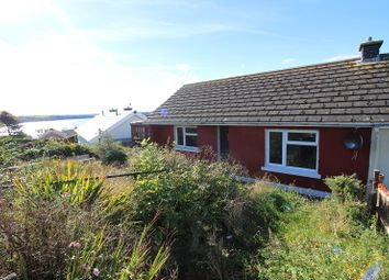 Thumbnail 2 bed semi-detached bungalow for sale in Gothic Road, Neyland, Milford Haven, Pembrokeshire.