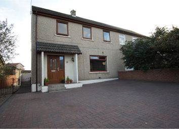Thumbnail 3 bed semi-detached house for sale in Queens Crescent, Kinghorn