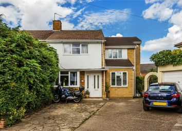 Thumbnail 4 bed semi-detached house for sale in Chalford Close, West Molesey, Surrey