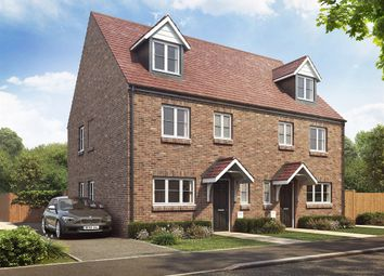 "Thumbnail 4 bed end terrace house for sale in ""The Leicester"" at Dukeminster Estate, Dunstable"