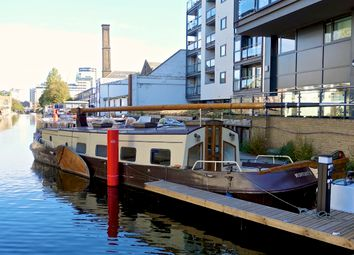 Thumbnail 1 bed houseboat to rent in Eagle Wharf Road, Islington