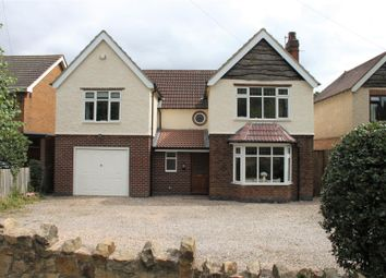 Thumbnail 4 bed detached house for sale in Burton Road, Findern, Derby