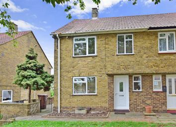 Thumbnail 2 bedroom semi-detached house for sale in Hollingbourne Road, Twydall, Gillingham, Kent