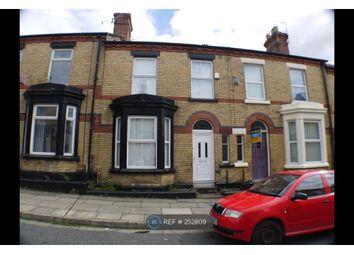 Thumbnail 4 bedroom terraced house to rent in Burdett Street, Liverpool