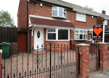 Thumbnail 2 bedroom semi-detached house to rent in Caspian Road, Hylton Castle, Sunderland