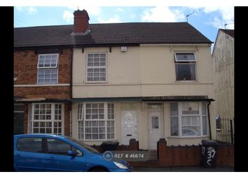 Thumbnail 4 bed terraced house to rent in Crowther Street, Wolverhampton