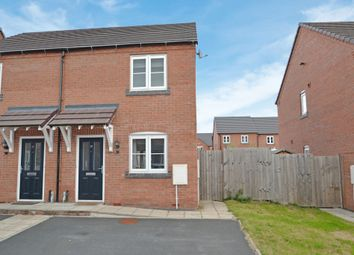 Thumbnail 2 bed semi-detached house for sale in Audley Park, Newport