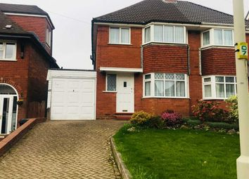 Thumbnail 3 bed semi-detached house to rent in Shenstone Valley Road, Halesowen