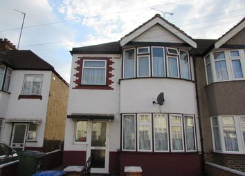 Thumbnail 3 bed end terrace house for sale in Tiverton Road, Wembley