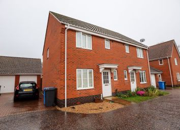 Thumbnail 4 bed semi-detached house to rent in Ivy Road, Norwich