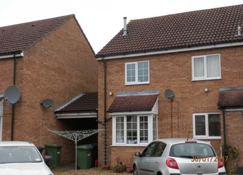 Thumbnail 2 bedroom town house to rent in Begwary Close, Eaton Socon, St. Neots
