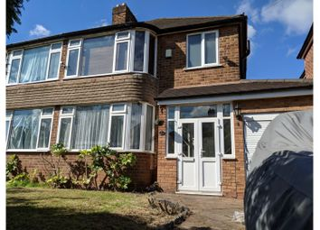 Thumbnail 3 bed semi-detached house for sale in Heythrop Grove, Moseley, Birmingham