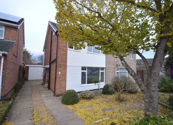 Thumbnail 3 bedroom semi-detached house for sale in Ramsbury Road, West Knighton, Leicester