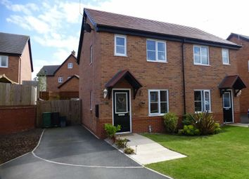 Thumbnail 2 bed semi-detached house for sale in Clarence Drive, Cuddington, Cheshire