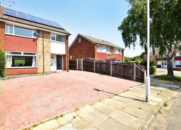 Thumbnail 3 bedroom semi-detached house for sale in Coombe Drive, Sittingbourne, Kent