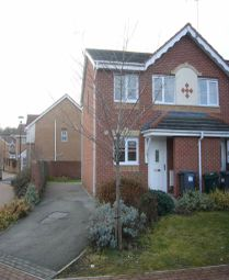 Thumbnail 2 bed semi-detached house to rent in Moat House Way, Conisbrough, Doncaster