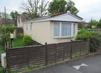 Thumbnail 1 bedroom mobile/park home for sale in Moorgreen Park (5587), Moorgreen Road, West End, Southampton