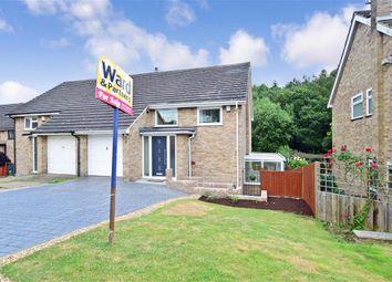 Thumbnail 3 bed semi-detached house for sale in Hever Wood Road, West Kingsdown, Sevenoaks, Kent