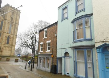 Thumbnail 5 bed terraced house for sale in Kirkgate, Ripon