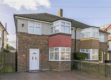 Thumbnail 3 bed semi-detached house for sale in Cunliffe Road, Stoneleigh, Surrey